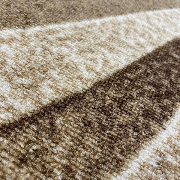 Мокетен килим - 1818 Бежов - детайл - 2