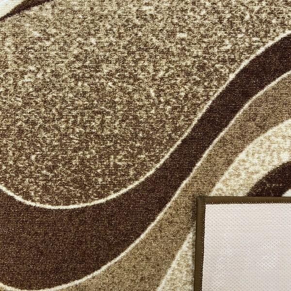 Мокетен килим - 1818 Бежов - детайл - 3