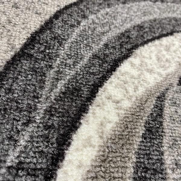 Мокетен килим - 1818 Сив - детайл - 2