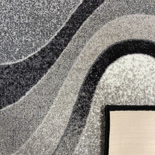 Мокетен килим - 1818 Сив - детайл - 3