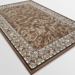 Мокетен килим - Блум Бежов