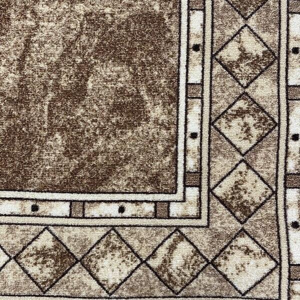 Мокетен килим - Блум Бежов - детайл - 1