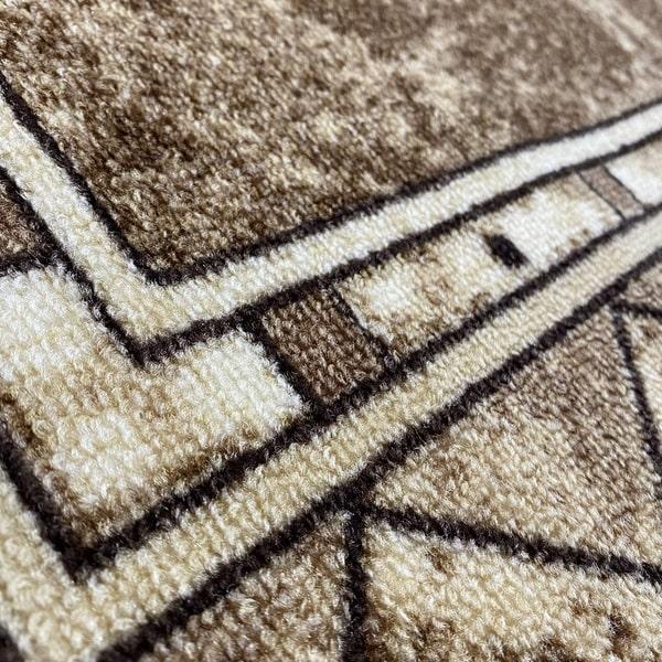 Мокетен килим - Блум Бежов - детайл - 2