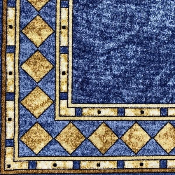 Мокетен килим - Блум Син - детайл - 1