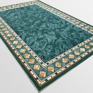 Мокетен килим - Блум Зелен