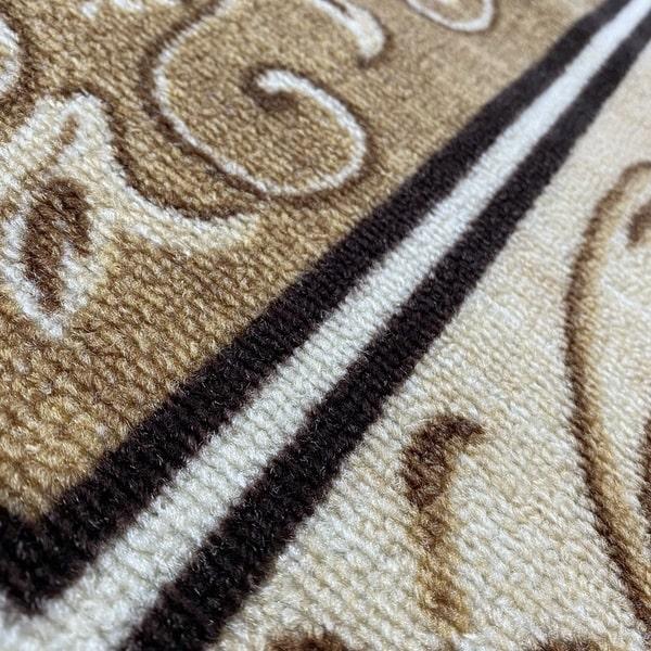 Мокетен килим - Фиоре 1 Бежов - детайл - 2