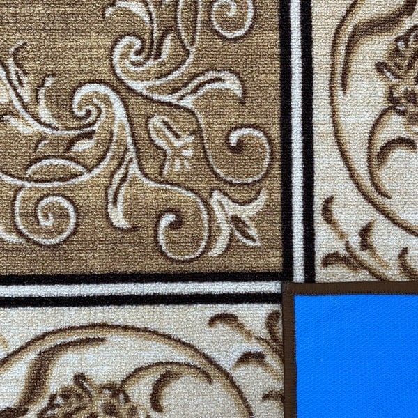 Мокетен килим - Фиоре 1 Бежов - детайл - 3