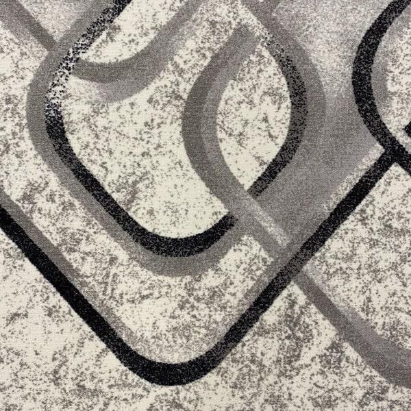 Мокетен килим - Гала Сив - детайл - 1