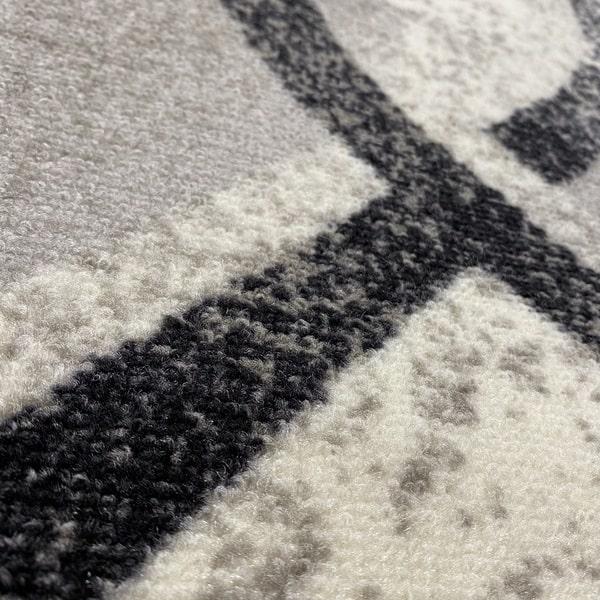 Мокетен килим - Гала Сив - детайл - 2