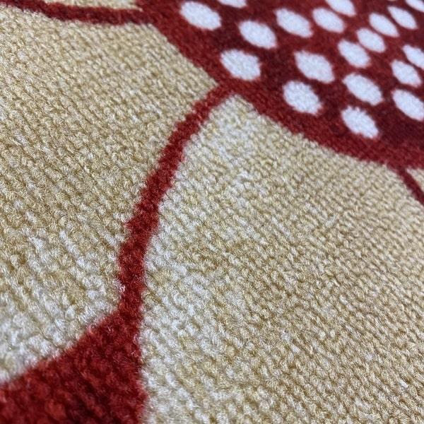 Мокетен килим - Монца Бордо - детайл - 2