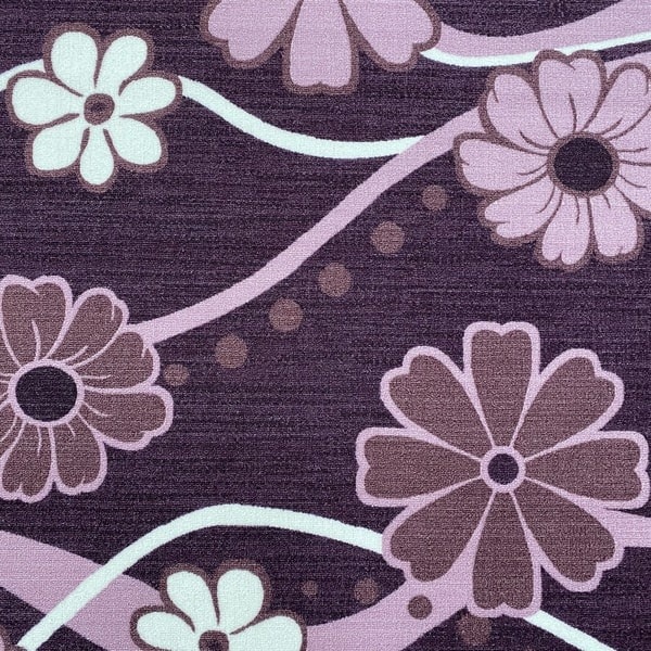 Мокетен килим - Цвете Лилав - детайл - 1