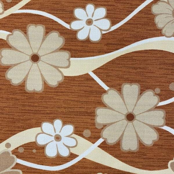 Мокетен килим - Цвете Оранжев - детайл - 1
