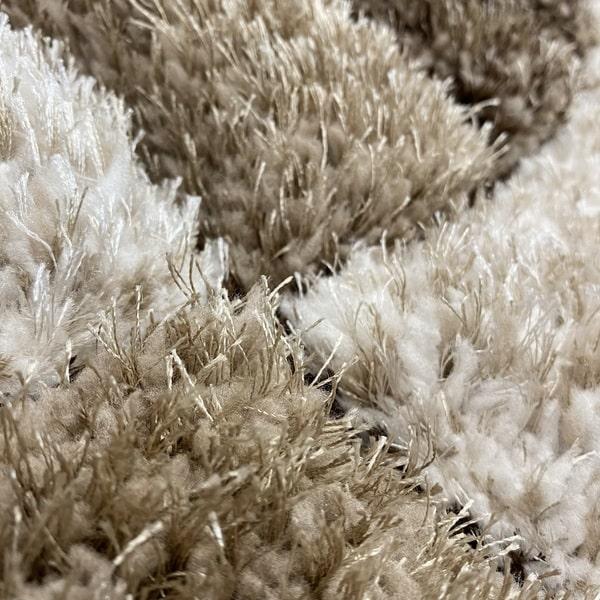 Рошав килим - 3Д Софт Шаги 304 Визон/Кафяв - детайл - 2