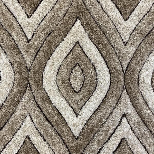 Рошав килим - 3Д Софт Шаги 311 Визон/Бежов - детайл - 1