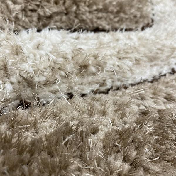 Рошав килим - 3Д Софт Шаги 311 Визон/Бежов - детайл - 2