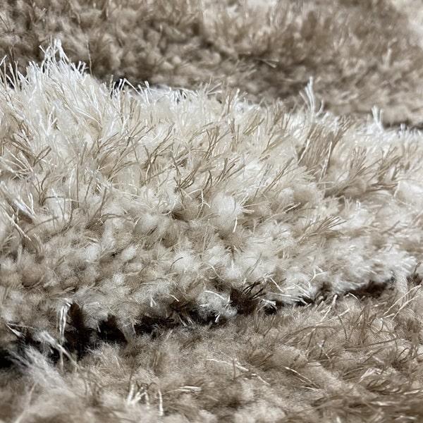 Рошав килим - 3Д Софт Шаги 315 Визон/Бежов - детайл - 2