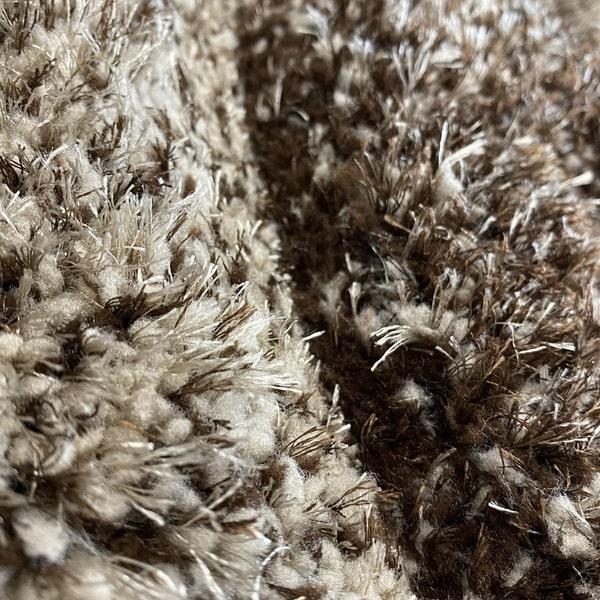 Рошав килим - 3Д Софт Шаги 325 Визон/Кафяв - детайл - 2
