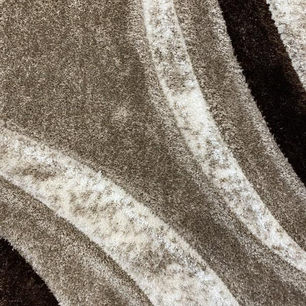 Рошав килим - 3Д Софт Шаги 342 Визон/Бежов - детайл - 1