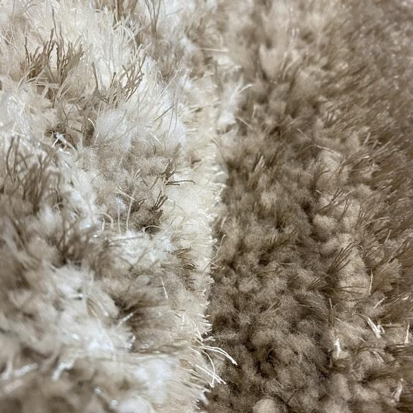 Рошав килим - 3Д Софт Шаги 342 Визон/Бежов - детайл - 2
