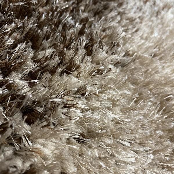 Рошав килим - 3Д Софт Шаги 376 Визон/Кафяв - детайл - 2