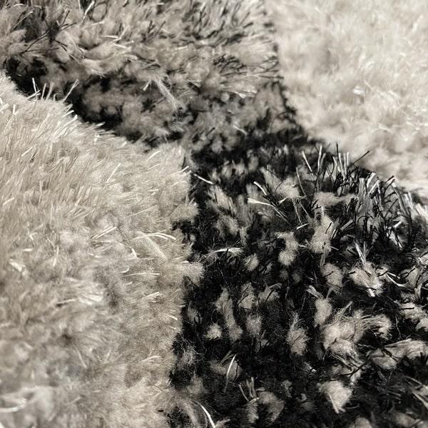 Рошав килим - 3Д Софт Шаги 420 Сив - детайл - 2