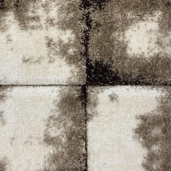 Рошав килим - 3Д Софт Шаги 535 Бежов/Визон - детайл - 1