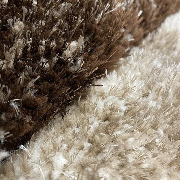 Рошав килим - 3Д Софт Шаги 535 Бежов/Визон - детайл - 2