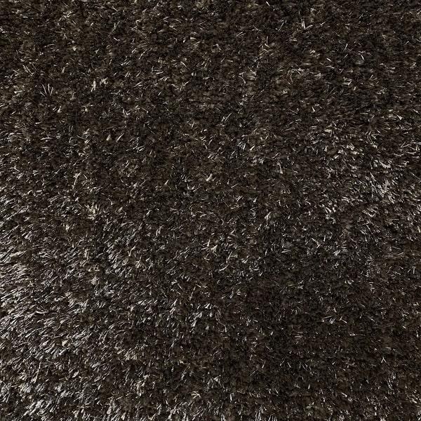 Рошав килим - Опал Шаги Кафяв - детайл - 1