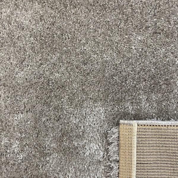 Рошав килим - Опал Шаги Сив - детайл - 3