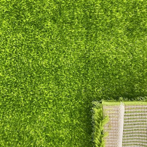 Рошав килим - Опал Шаги Зелен - детайл - 3