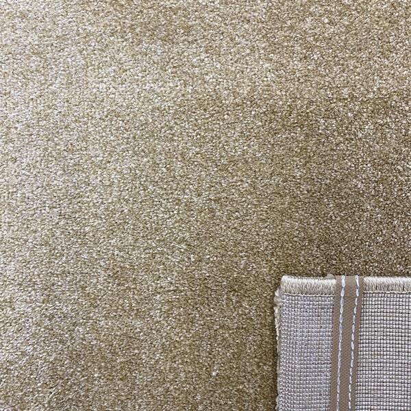 Едноцветен килим - Бела Златен - детайл - 3