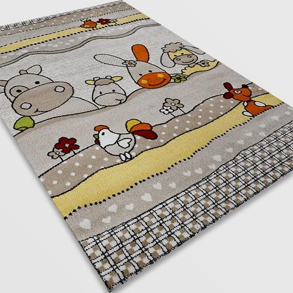 Детски килим – Найс 486 Бежов
