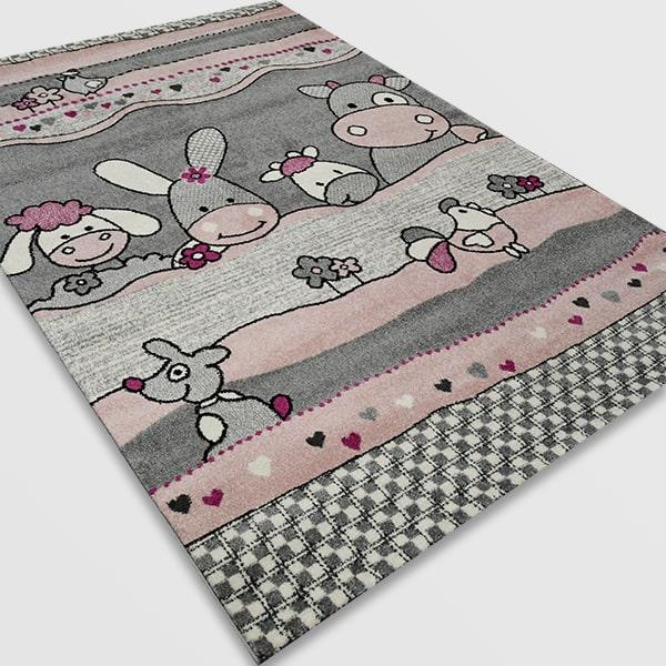 Детски килим – Найс 486 Розов