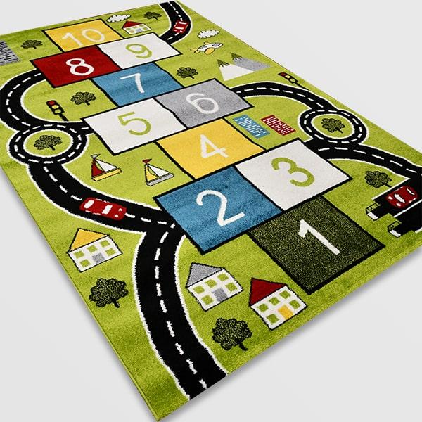 Детски килим – Найс 855 Зелен