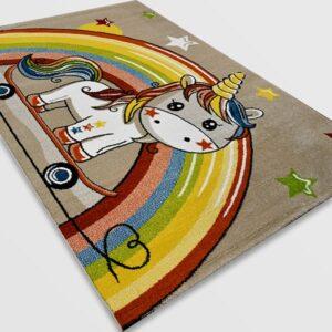 Детски килим – Найс 856 Бежов