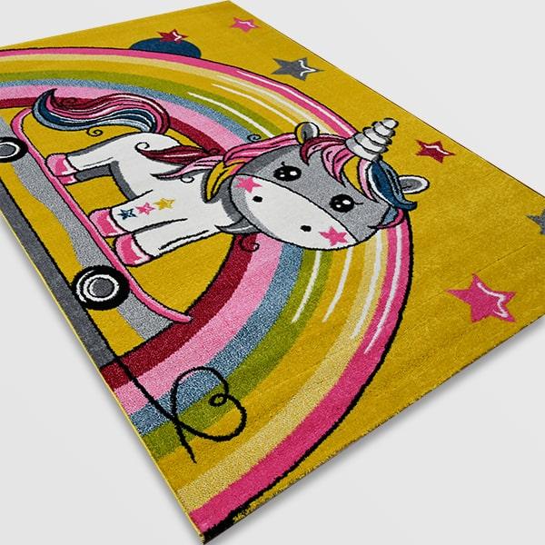 Детски килим – Найс 856 Жълт