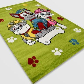 Детски килим – Найс 857 Зелен