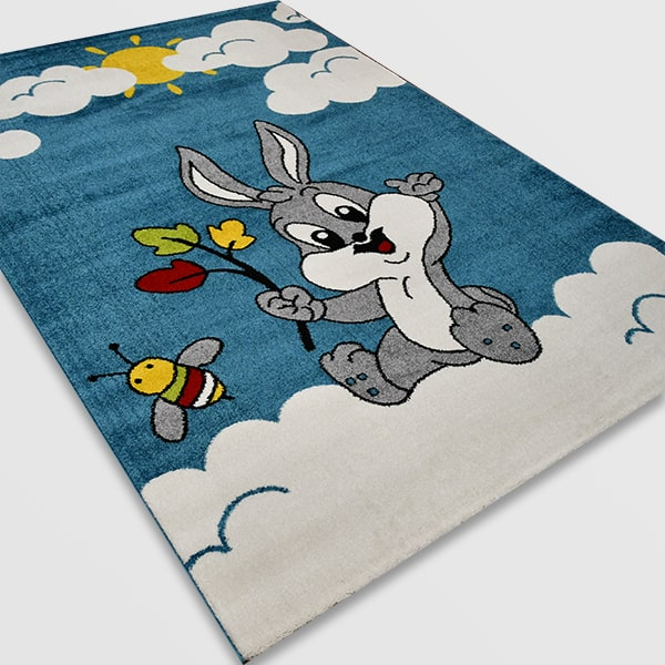 Детски килим – Найс 898 Син