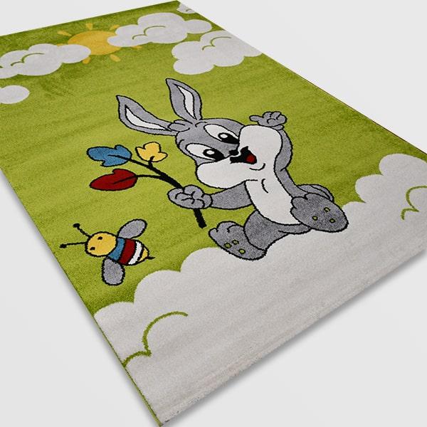 Детски килим – Найс 898 Зелен