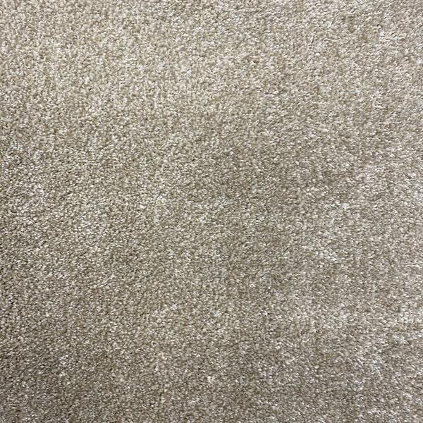 Едноцветен килим - Бела Бежов - детайл - 1