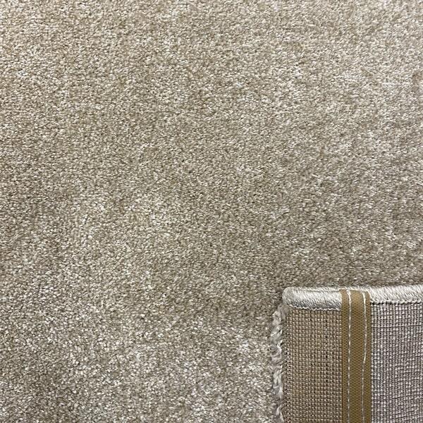Едноцветен килим - Бела Бежов - детайл - 3