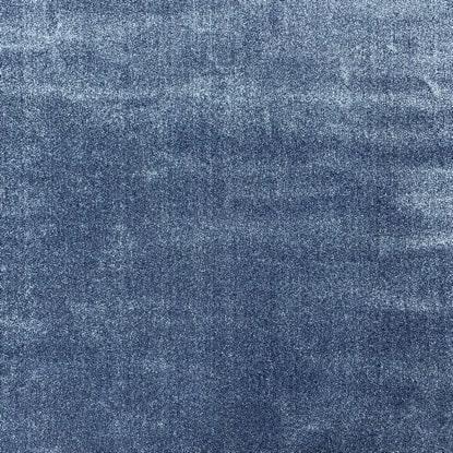 Едноцветен килим - Бела Син - детайл - 1