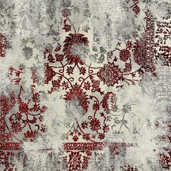 Модерен килим - Алпина 6027 Червен - детайл - 1