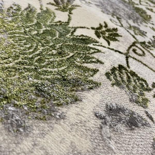 Модерен килим - Алпина 6027 Зелен - детайл - 2