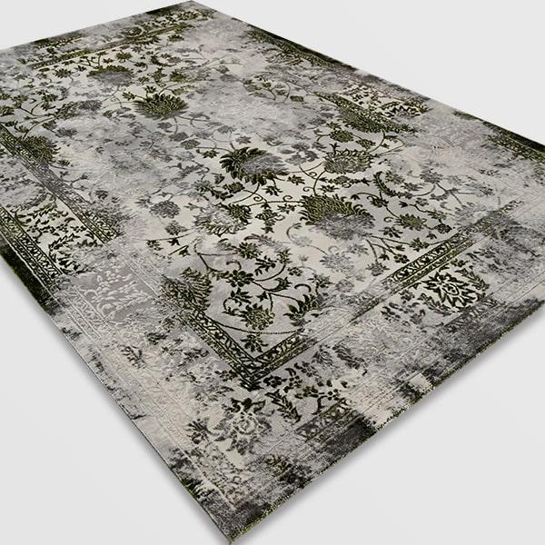 Модерен килим - Алпина 6027 Зелен