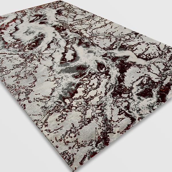 Модерен килим - Алпина 6075 Червен
