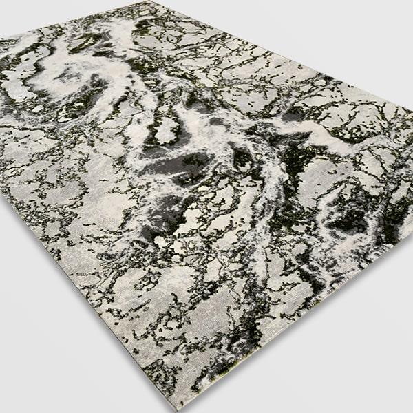 Модерен килим - Алпина 6075 Зелен