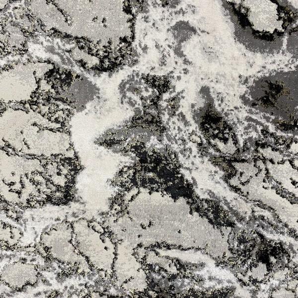 Модерен килим - Алпина 6075 Златен - детайл - 1