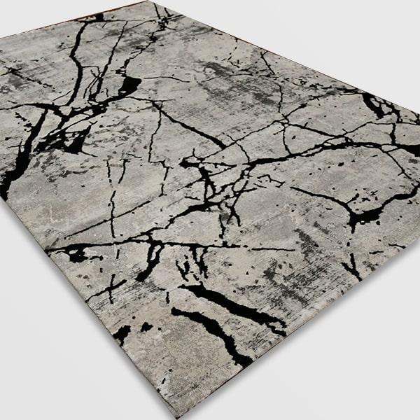 Модерен килим - Алпина 6093 Антрацит