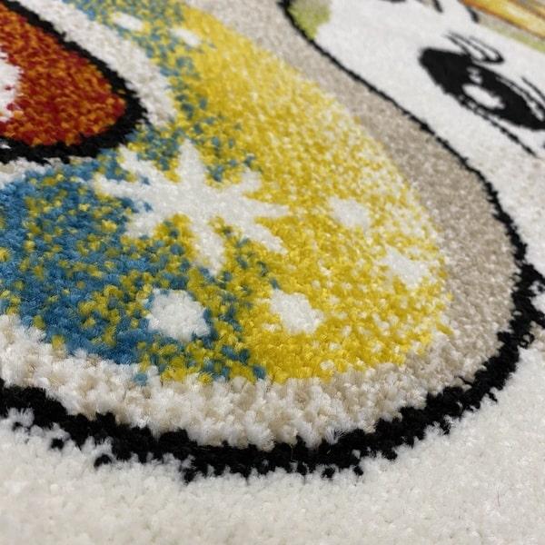 Детски килим – Найс 239 Бежов - детайл - 2